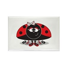 Little Ladybug Rectangle Magnet