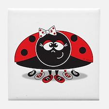 Little Ladybug Tile Coaster