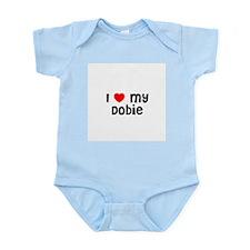 I * my Dobie Infant Creeper