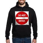 Do Not Enter 1 Hoodie (dark)