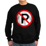 No Parking Sign Sweatshirt (dark)