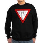 Yield SIgn Sweatshirt (dark)