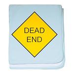 Dead End Sign baby blanket