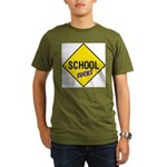 School Sucks Organic Men's T-Shirt (dark)