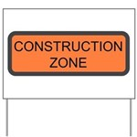 Construction Zone Sign Yard Sign