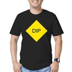 Dip Sign Men's Fitted T-Shirt (dark)