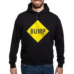 Warning - Bump Sign Hoodie (dark)
