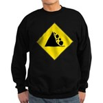 Fallign Rocks Sign Sweatshirt (dark)