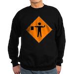 Flagman Sign Sweatshirt (dark)