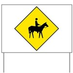 Horse Crossing Sign Yard Sign