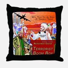We'll Teach You Throw Pillow