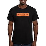 Men At Work Sign 1 Men's Fitted T-Shirt (dark)