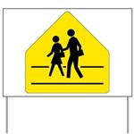 School Crossing Sign Yard Sign