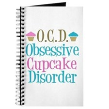 Cute Cupcake Journal