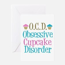Cute Cupcake Greeting Card