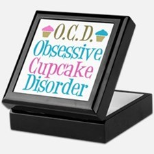 Cute Cupcake Keepsake Box