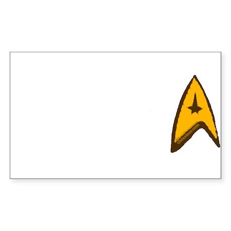 Star Trek Sticker (Rectangle 50 pk)