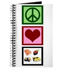 Peace Love Sushi Journal