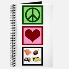 Peace Love Sushi Journal