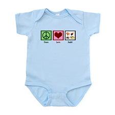Peace Love Sushi Infant Bodysuit