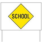 School Sign Yard Sign