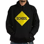 School Sign Hoodie (dark)