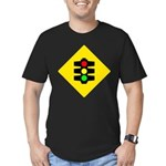 Traffic Light Men's Fitted T-Shirt (dark)
