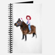 Santa Mini Horse Journal