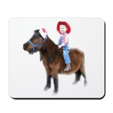 Santa Mini Horse Mousepad