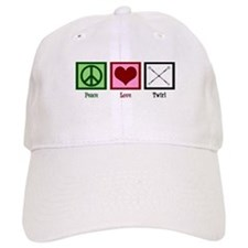 Peace Love Twirl Baseball Cap