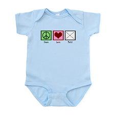Peace Love Twirl Infant Bodysuit
