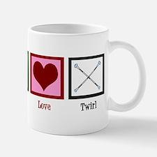 Peace Love Twirl Mug