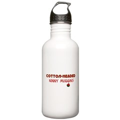 cotton-headed ninnymuggins Water Bottle