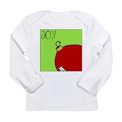 Xmas JOY Long Sleeve Infant T-Shirt