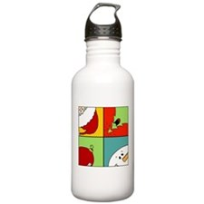 christmas fun Stainless Water Bottle 1.0L