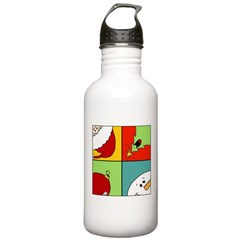 christmas fun Water Bottle