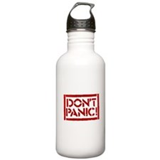 Hitchhiker - Don't Panic! Water Bottle