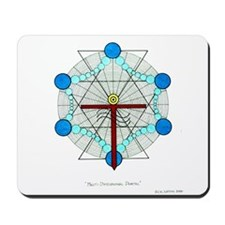 Multi-Dimensional Portal - Co Mousepad
