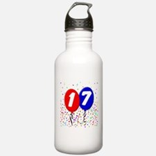 17th Birthday Water Bottle