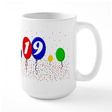 19th Birthday Ceramic Mugs