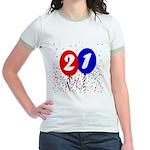 21st Birthday Jr. Ringer T-Shirt