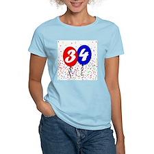 34th Birthday T-Shirt