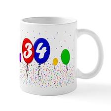 34th Birthday Mug