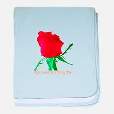 Romantic Love baby blanket