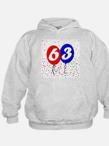 63rd Birthday Hoodie