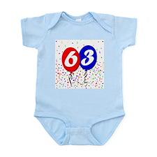 63rd Birthday Infant Bodysuit