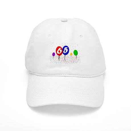 65th Birthday Cap