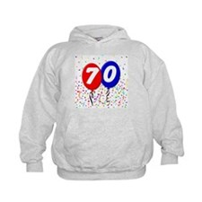 70th Birthday Hoodie