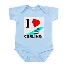 I love curling Infant Creeper