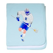 Lacrosse Gifts baby blanket